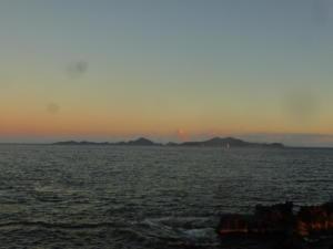 Vieux fort coucher de soleil - Saintes